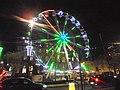 Ferris wheel, Headrow, Leeds by night (12th December 2018) 003.jpg