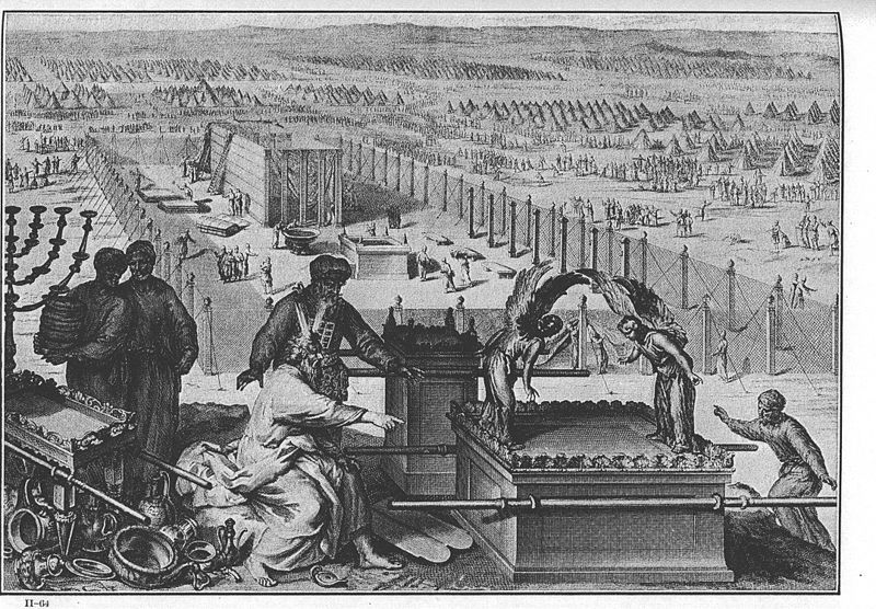 File:Figures The erection of the Tabernacle and the Sacred vessels.jpg