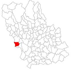 Vị trí của Filipestii de Padure