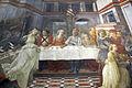 Filippo lippi, affreschi del 1452-65, banchetto di erode 06.JPG