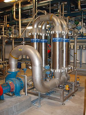 Cross-flow filtration - Filtration unit for industrial cross-flow filtration
