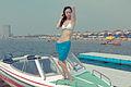 Fine model on a boat. (6772368907).jpg