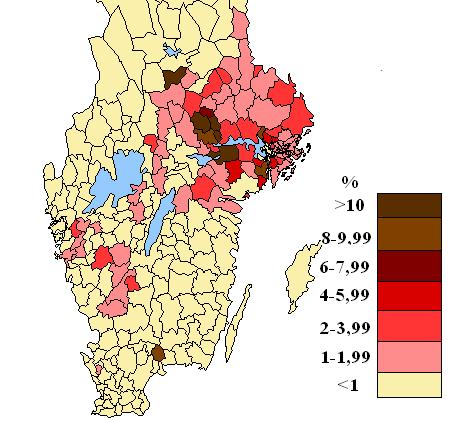 Finsktalande södra sverige