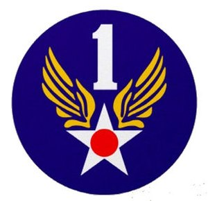 Freeman Army Airfield - Image: First Air Force Emblem (World War II)
