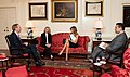 First Lady Melania Trump Meets with Microsoft President Brad Smith and Executive Director of Communications Carol Ann Brown (47766347602).jpg