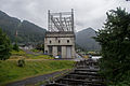 First Powerhouse and Fish Ladder, Bonneville Dam.jpg