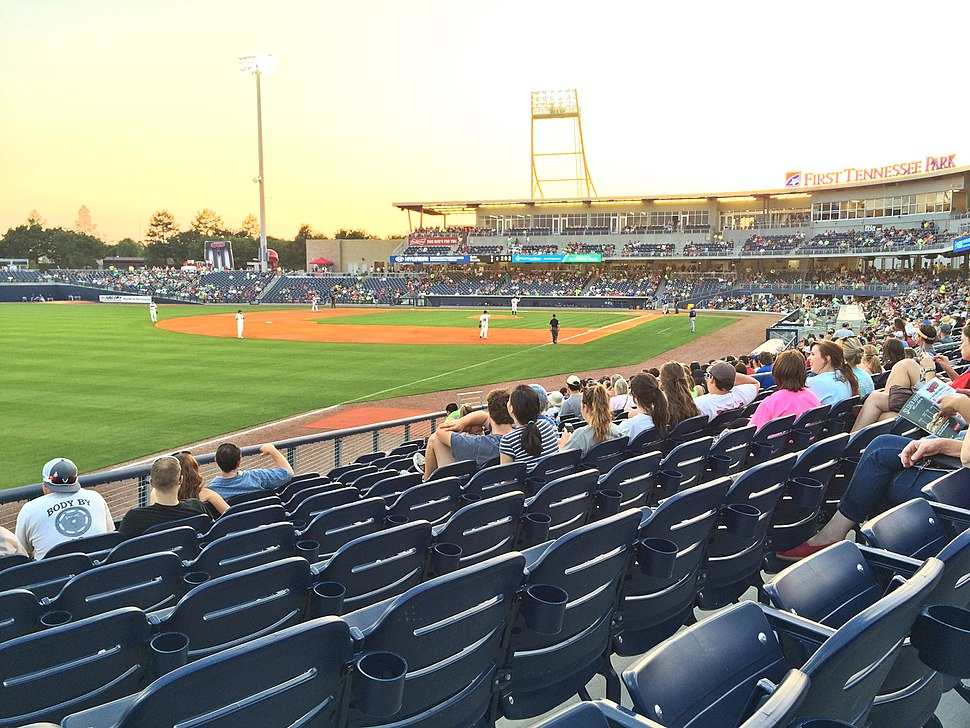 First Tennessee Park, May 5, 2015 - 1