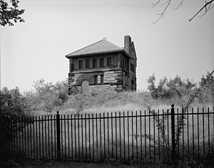 Fisher Hill Reservoir - Historic HABS photo