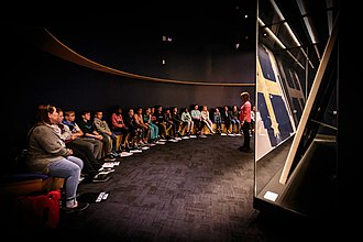 Museum of Australian Democracy at Eureka - The Eureka Flag was central to MADE's exhibitions.