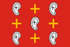 Kozelsk - Image: Flag of Kozelsk (Kaluga oblast)