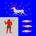 Flag of Västerbotten lan.png