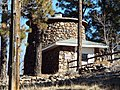 Flagstaff-Lowell Observatory-1894-Stone Water Tank built in 1901.jpg