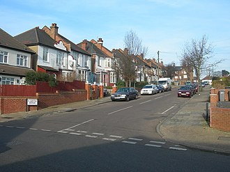 Tokyngton - Image: Flamsted Avenue, Wembley geograph.org.uk 340779