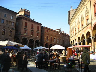 Square of Bologna.