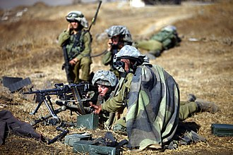 Israel Defense Forces - Soldiers of the Golani Brigade on the Golan Heights