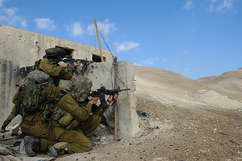 קובץ:Flickr - Israel Defense Forces - Paratroopers Brigade Reconnaissance Batallion in Live-Fire Drill (8).jpg