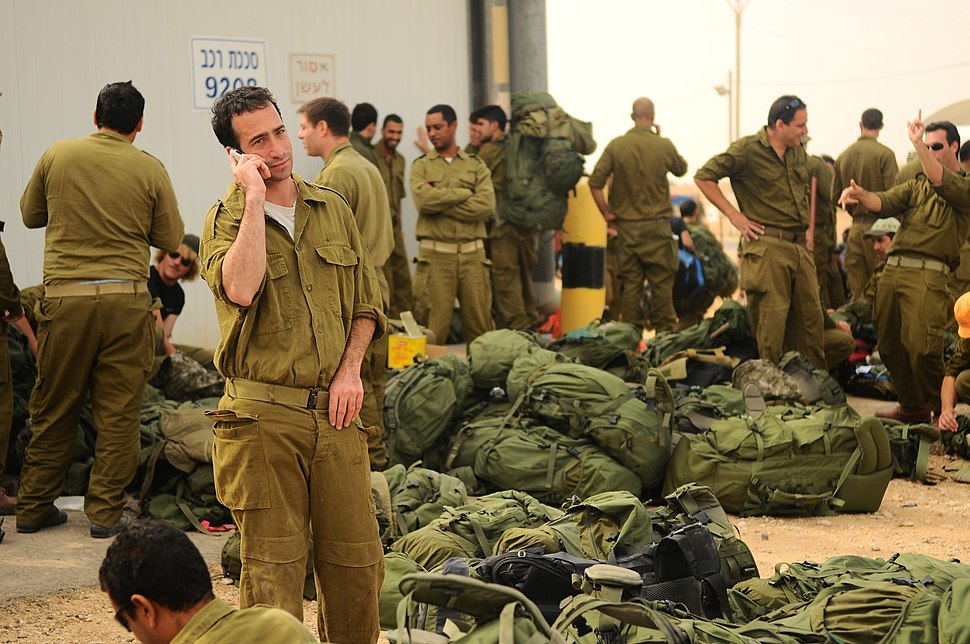 Flickr - Israel Defense Forces - Reserve Soldiers in Staging Areas Around the Gaza Strip