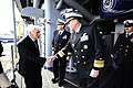 Flickr - Official U.S. Navy Imagery - U.S. Ambassador to Ireland is welcomed aboard USS Fort McHenry..jpg