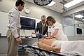 Flickr - Official U.S. Navy Imagery - ear Adm. Elizabeth Niemyer performs CPR on a medical dummy..jpg
