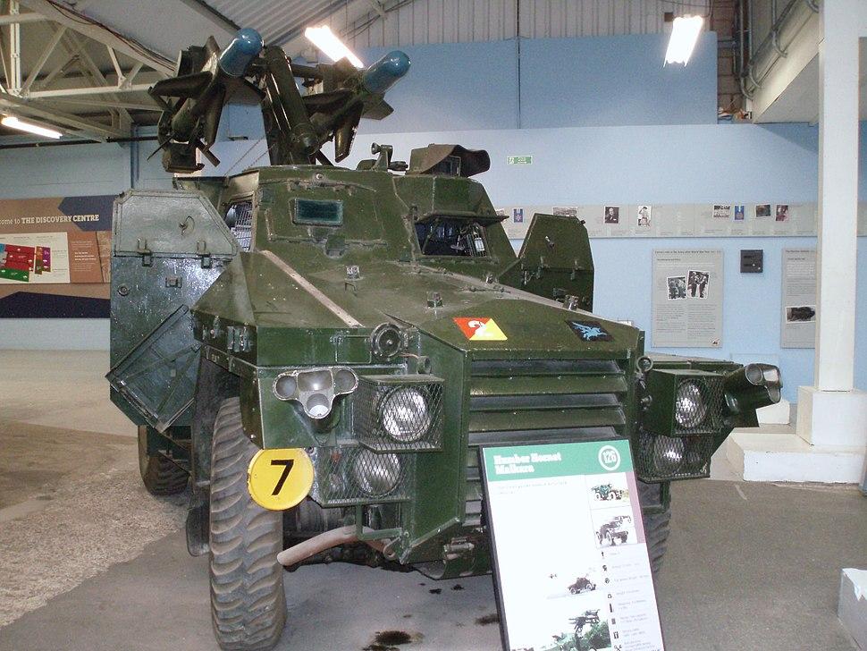Flickr - davehighbury - Bovington Tank Museum 345 humber hornet malkara