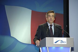François Fillon - François Fillon speaking in Warsaw