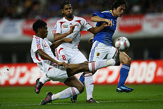 Keiji Tamada Japanese association football player