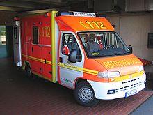 Krankenwagen Notrufnummer