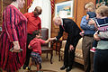 Florida Governor Rick Scott welcomes the 2016 Down Syndrome Awareness Week with fist-bumps for Kennedi Beahn and Xavier Robinson 04.jpg