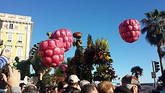 Nice Carnival - Image: Flower parade