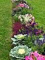 Flowerbeds in apple orchard (Kolomenskoye) 05.JPG