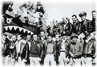 Group of American military pilots who flew for the Republic of China Air Force in 1941–42