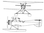Focke-Wulf W 4 2-view Le Document aéronautique March,1929.png