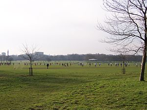 London Football Association - Football matches in Regent's Park
