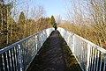 Footbridge across the A21 Tonbridge bypass - geograph.org.uk - 1139412.jpg