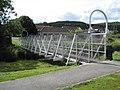 Footbridge over Eddleston Water - geograph.org.uk - 1435266.jpg