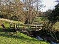Footbridge over Penn Brook, Staffordshire - geograph.org.uk - 617274.jpg