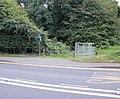 Footpath entrance gate, Caerleon Road, Newport - geograph.org.uk - 1590959.jpg