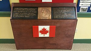 25th Canadian Infantry Brigade - Memorial to the 25th Canadian Infantry Brigade at the Fort Lewis Military Museum.