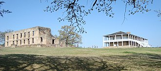 National Register of Historic Places listings in Bryan County, Oklahoma - Image: Fort Washita Both Barracks
