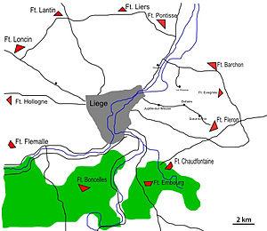 Fort de Fléron - The Liège forts