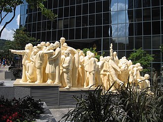 McGill College Avenue - The Illuminated Crowd.