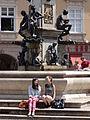 Fountain on Maximilianstrasse - Augsburg - Germany.jpg