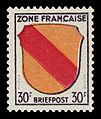 Fr. Zone 1945 10 Wappen Baden.jpg