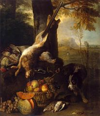 Still Life with a Dead Hare and Fruit