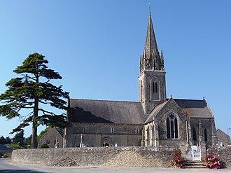 Asnières-en-Bessin - The Church of Saint-Vigor
