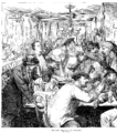 Franco-Prussian War- Illustrated London News, September 17, 1870 - Discussing the War in a Paris Café - left.PNG