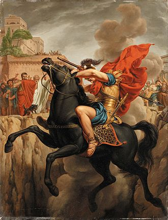 Curtia (gens) - The Sacrifice of Marcus Curtius