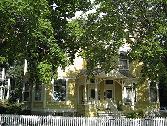 Nicollet Island - Franklin Griswold's house at 163 Nicollet Street