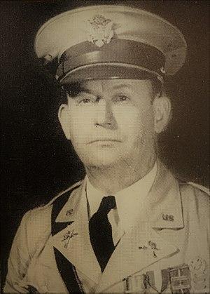 Metropolitan Light Infantry - Image: Frank M Whidden, CPT, Company F, 124th Infantry 1939