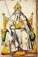Frankfurt Am Main-Roemer-Fettersches Wappenbuch f1v-Der Kaiser.jpg